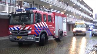 Brand in Kerstversiering zorgt voor grote schade in woning Amstelveen
