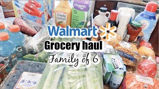 WALMART GROCERY HAUL // FAMILY OF 6 // Mama Approved
