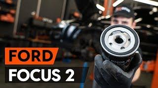 Hoe een oliefilter en motorolie vervangen op een FORD FOCUS 2 (DA) [HANDLEIDING AUTODOC]