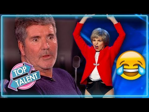 Weirdest and Funniest Auditions on Britain's Got Talent 2019   Top Talent