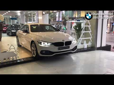 Xe mui trần BMW 420i Convertible trắng đẹp thể thao sang trọng - LH 0912523362