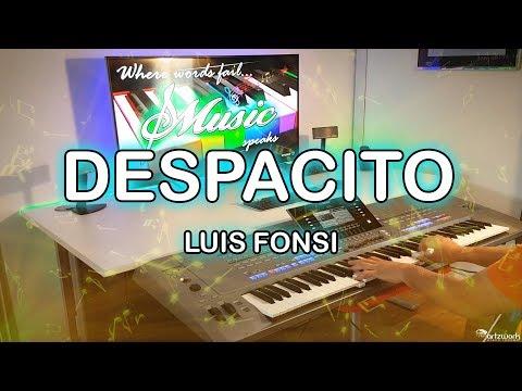 Despacito Instrumental  on Yamaha Tyros 5