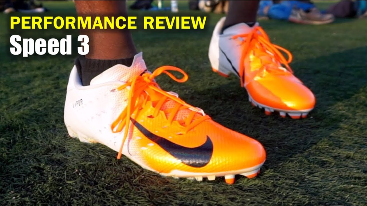 f422e83b2 NIKE Vapor Untouchable 3 Speed Cleats  Performance Review - YouTube