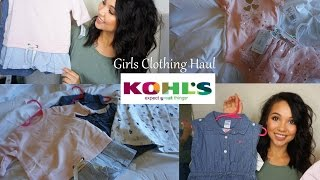 toddler girls spring summer clothing haul 2017