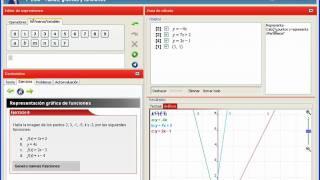 TutorMates · 1º ESO - Tablas, gráficas y funciones