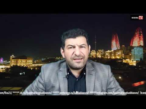 Fuad Abbasov Ilə Bazar Günü Canlı Yayımı 12.01.2020