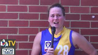 Jorja Rowe VFLW Review Round 10