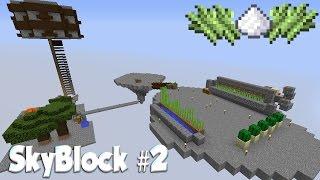 SkyBlock #2: Новые Острова и Автоматическая Ферма Тростника!