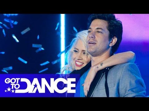 Kimberly Wyatt & Adam Garcia Perform  Got To Dance Series 3