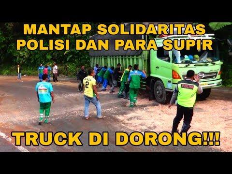 SOLIDARITAS PAK POLISI DAN PARA SUPIR BERSATU DI DALAM BENCANA!!!