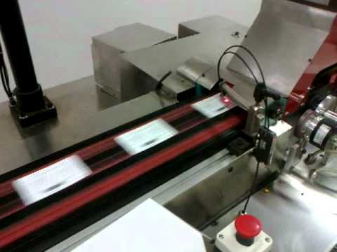 LABELING MACHINE WITH LABLE INSPECTION VISION CAMERA SYSTEM FOR BARCODE, 2D CODE, BATCH CODE