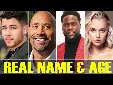 Real Name and Age of Jumanji: The Next Level Actors