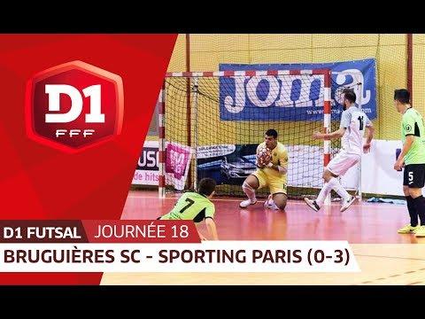 J18 : Bruguieres SC - Paris Sporting Club (0-3), le résumé
