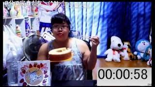 【大食い】直径20cmのバウムクーヘンを食べるど!【飯テロ】 thumbnail