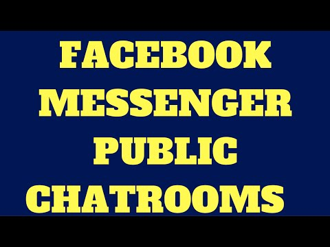 Facebook Messenger Public Chatroom Revealed From Source Code