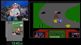 R.C. Pro-AM (One Loop) NES speedrun  in 25:47 by Arcus