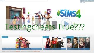 How to fix The Sims 4 Testingcheats Ture unable to execute command: This MIGHT help