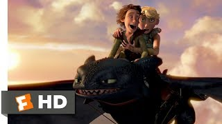 How to Train Your Dragon (2010) - Going For A Ride Scene (6/10) | Movieclips