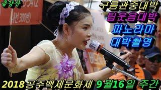 💗버드리 화질최고💗9월16일 주간 2018 공주백제문화제 초청 공연