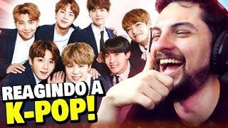 O REACT DE K-POP MAIS SEM EXPRESSÃO DO YOUTUBE!