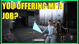 Star Wars Battlefront 2 - WE NEED DUAL WIELDING SABER HEROES! | Finally played Kashyyyk again XD