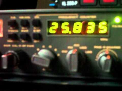 Listening to the CB radio