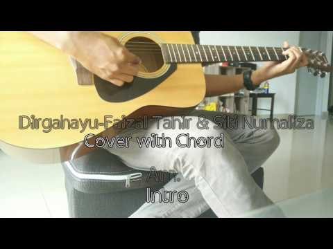 Faizal Tahir & Dato Siti Nurhaliza-Dirgahayu Guitar Cover with Chord