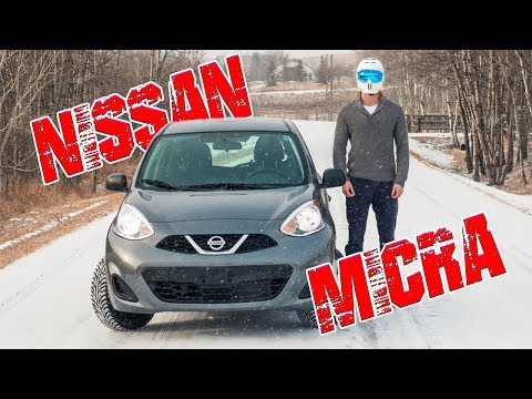 Racing & Reviewing My New Nissan Micra In The Snow! // Full Tour
