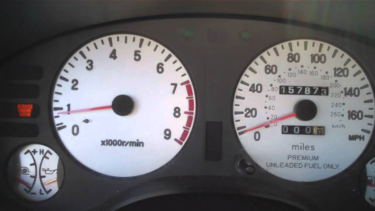 99 Eclipse GSX bad TPS Sensor DSMtunercom  YouTube