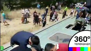 ЧП в Казахстане: машинист применил экстренное торможение - СМИ2
