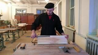 Урок технологии в 5 классе. Разметка заготовок из древесины