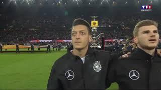 France - Allemagne l'hymne allemand