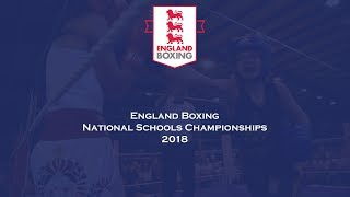 England Boxing National Schools Championship 2018 - Ring A