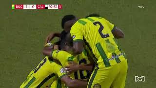 Bucaramanga 1-0 Cali: Gol de Brayan Rovira Liga Águila 2018-II Fecha 18