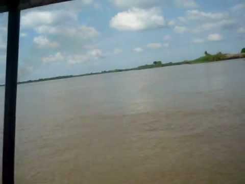 Desembocadura del Rio Cauca en el Rio Magdalena: Tremenda U.
