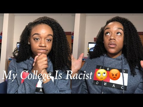 MY COLLEGE IS RACIST| STORYTIME: Racist Campus Security