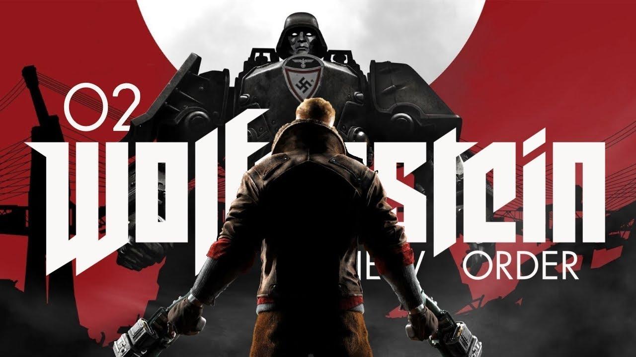 Wolfenstein: The New Order (PL) #2 – Zdążyć na pociąg (Gameplay PL)