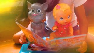Baby Alive Doll with Talking Tom Story Telling Time Baby Dolls mp4