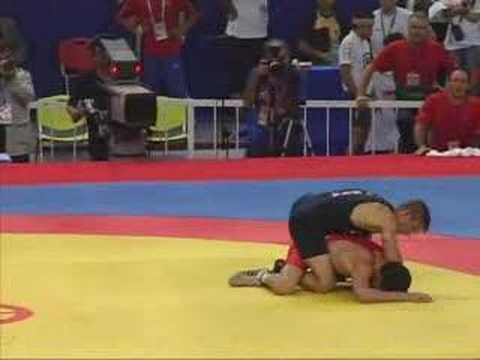 Sammie Henson 2006 Wrestling World Championships Final for Bronze