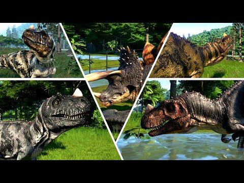 Stegoceratops vs Ceratosaurus All Skin |