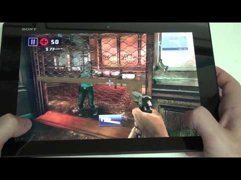 Sony Xperia Z2 Tablet Gaming Demo
