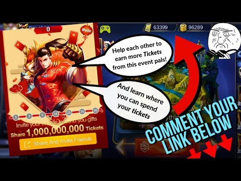 Where to Use Your Tickets? SPRING FESTIVAL EVENT Let's Help Each Other - Mobile Legends