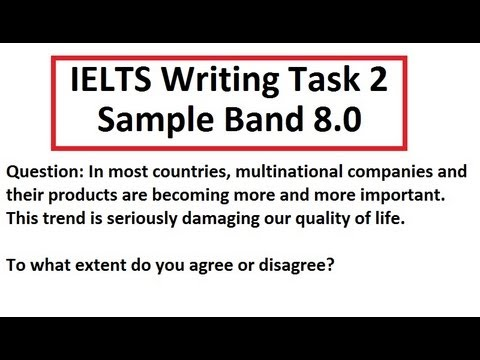 IELTS Writing Test Sample Band 8 Task 2 Academic 8.5 scorer SYED ...