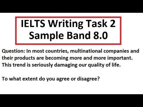 IELTS Writing Test Sample Band 8 Task 2 Academic 85 scorer SYED