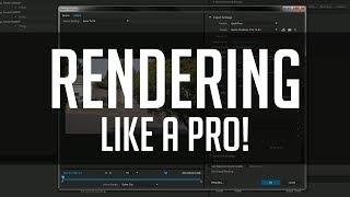 Как рендерить видео в 1080p? SONY VEGAS 14