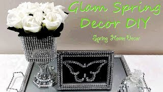 DIY Dollar Tree Glam Spring Home Decor Ideas