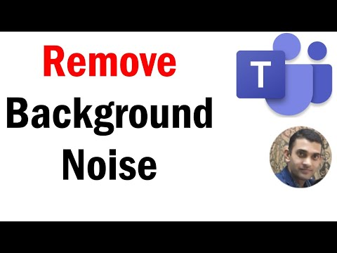 How to Remove Background Noise in MS Teams | Suppress background sound in Microsoft Teams | #Teams