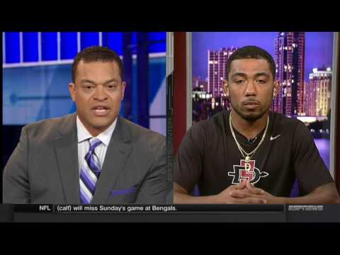 SDSU FOOTBALL: DONNEL PUMPHREY - ESPN SPORTSCENTER - 9/19/16