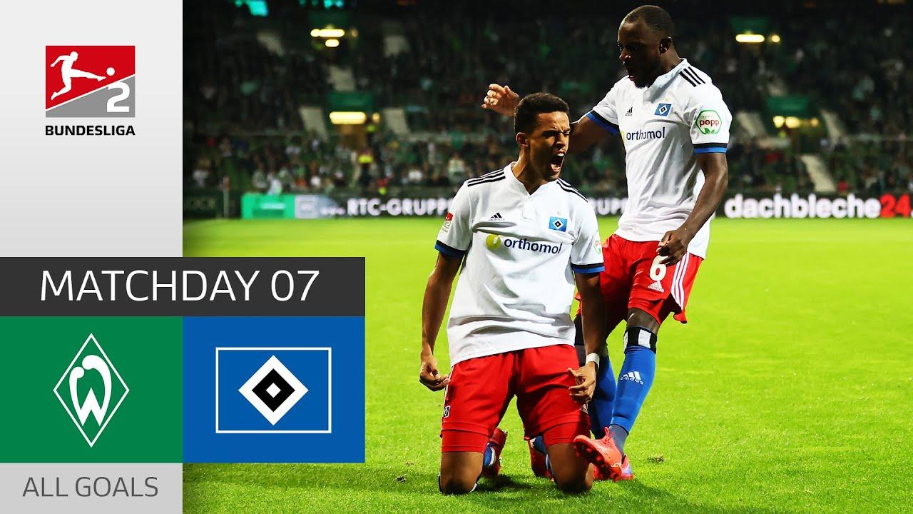Download 2 Red Cards in a FIERY Nord-Derby | SV Werder Bremen - Hamburger SV 0-2 | All Goals | Bundesliga 2