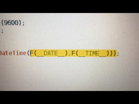 Real Time Clock: Setting the Date/Time with Arduino